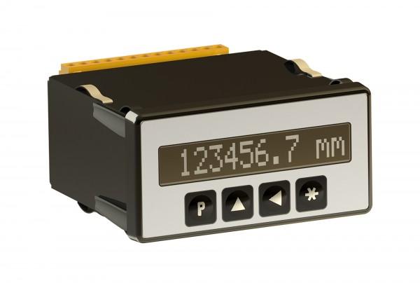 Indicateur de position programmable PAS96B pour capteurs avec interface SSI